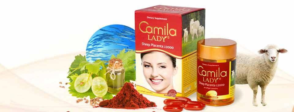 Sở hữu làn da căng mịn, trắng khỏe cùng Camila Lady, Gluta Pearl